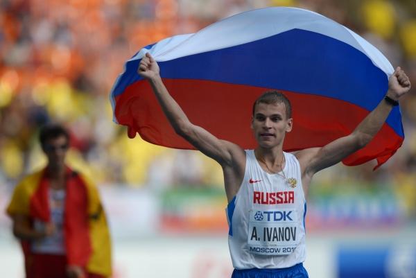 Александр Иванов выиграл заход на 20 км в рамках зимнего чемпионата России по спортивной ходьбе в Сочи