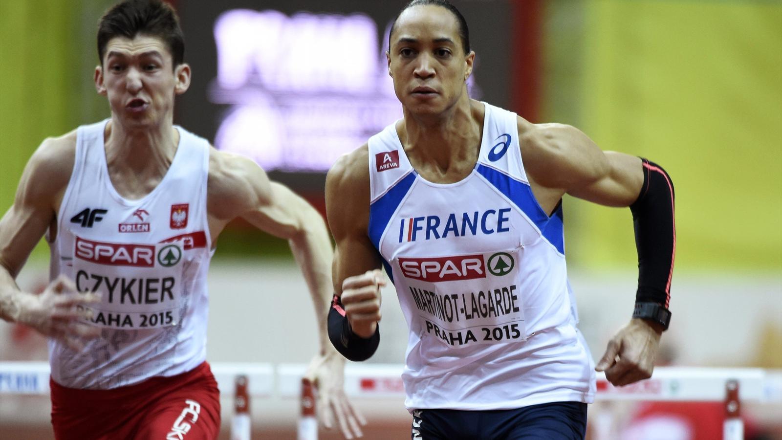 Паскаль Мартино-Лагард завоевал золото на Чемпионате Европы в забеге на 60 м с барьерами + Видео