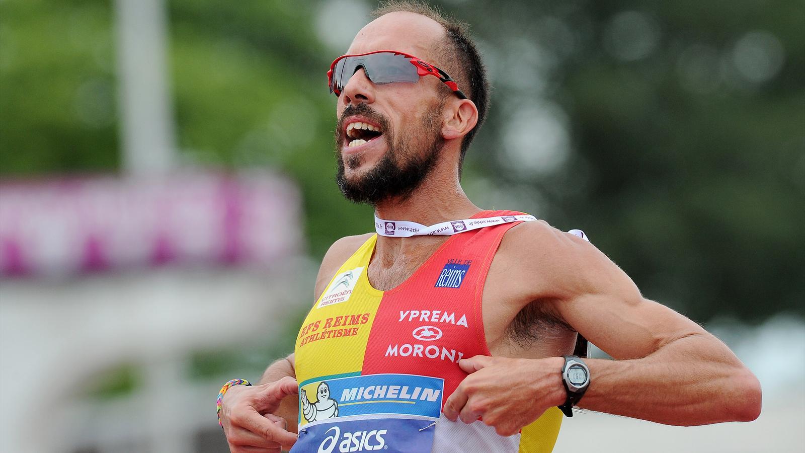 Йоанн Диниз побил мировой рекорд в спортивной ходьбе на 20 км