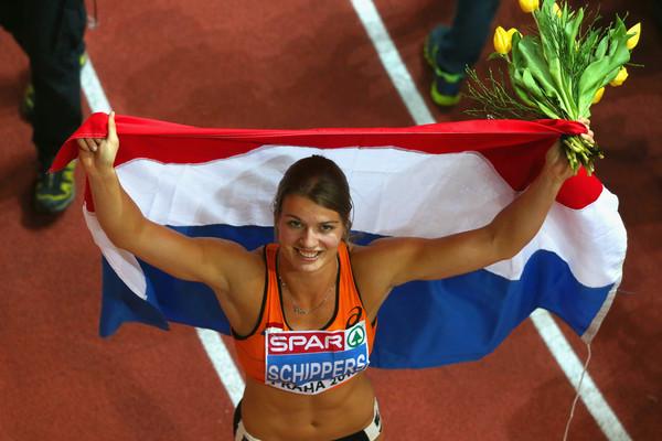 Дафна Шипперс – победительница забега на 60 м на Чемпионате Европы в Праге + Видео