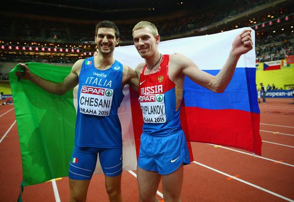 Даниил Цыплаков завоевал золото Чемпионата Европы в помещении в прыжках в высоту + Видео