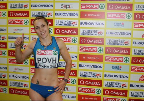 Олеся Повх прокомментировала шестое место в беге на 60 метров в Праге