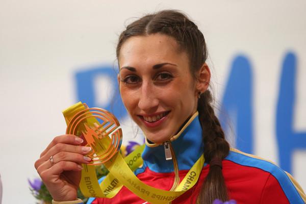 Екатерина Конева завоевала золото Чемпионата Европы в тройном прыжке + Видео