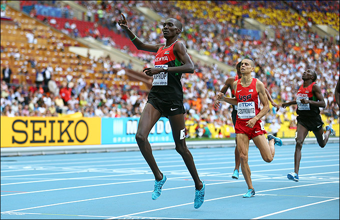 Асбель Кипроп одержал победу в 800-метровом забеге на соревнованиях в Найроби