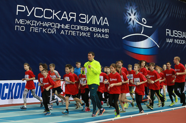 IAAF проведет в Сочи показательные выступления детей