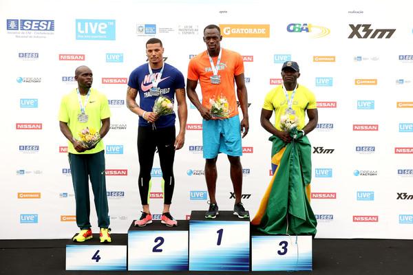 Усэйн Болт победил на 100 метровке в Рио-де-Жанейро + Видео