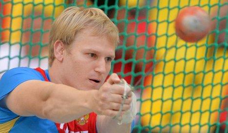 Литвинов выиграл всероссийские соревнования на призы Низамутдинова в метании молота