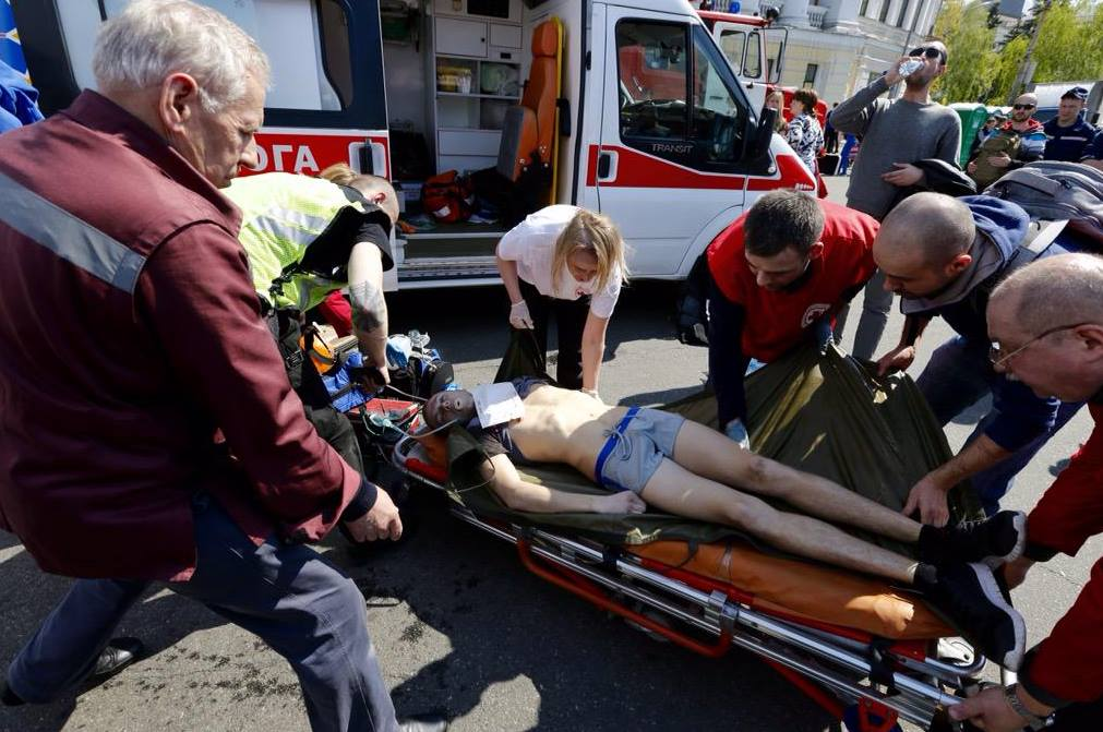 Участник киевского полумарафона умер во время забега