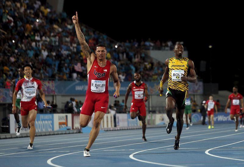 Усэйн Болт не помог Ямайке победить в эстафете 4х100 м на ЧМ по эстафетному бегу +Видео