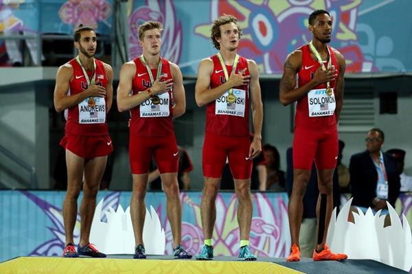 Сборная Кении проиграла сборной США в эстафете 4х800 м +Видео