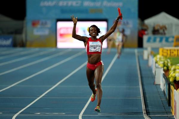 Женская сборная США победила на дистанции 4х400 и 4х800 метров на ЧМ по эстафетам +Видео