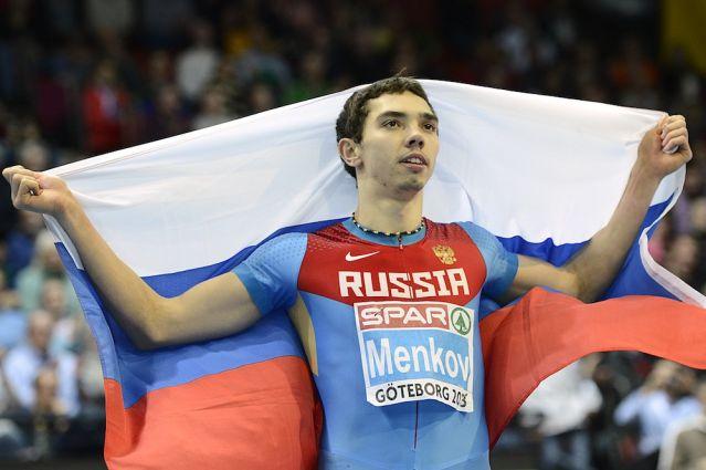 Александр Меньков – призер этапа Мирового вызова в Пекине в прыжках в длину