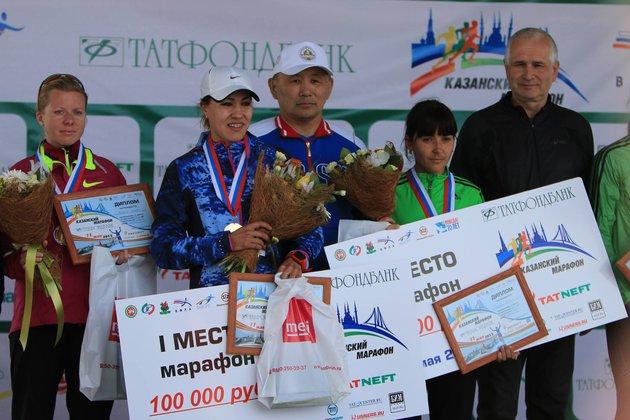 Сардана Трофимова: у меня традиционно вторая половина марафона быстрее первой