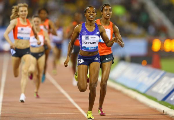 18-летняя Давит Сеяюм установила лучший результат сезона в мире в беге на 1500м +Видео