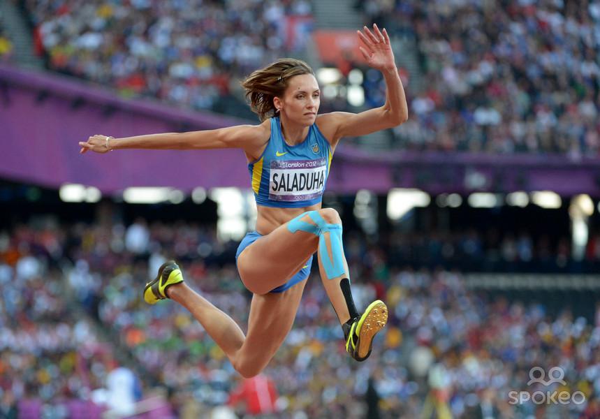 Ольга Саладуха заняла второе место на Бриллиантовой лиге в Шанхае