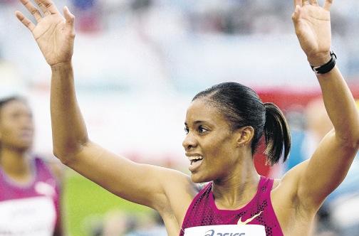 Кализ Спенсер выиграла 400м с барьерами на Бриллиантовой лиги в Шанхае +Видео