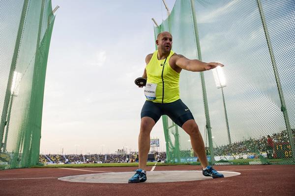 Пётр Малаховски победил в метании диска на этапе Бриллиантовой лиги в Юджине