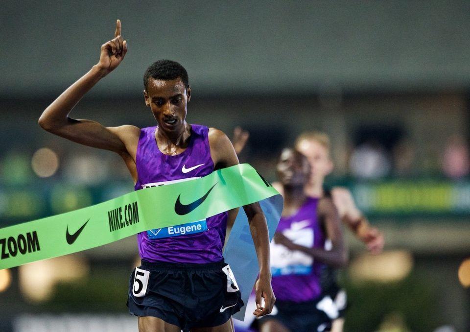 Йомиф Кежелча установил лучший результат сезона в мире в беге на 5000м в Юджине +Видео