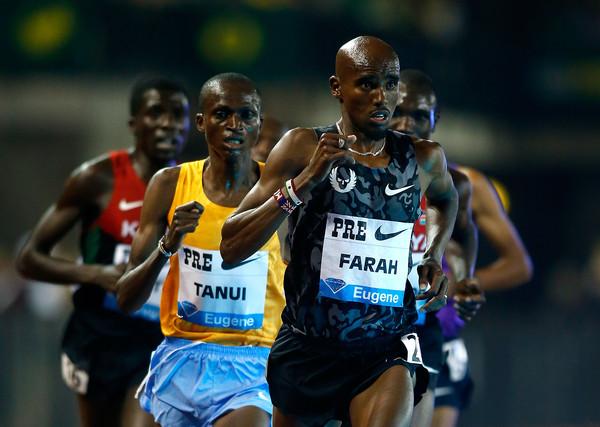 Мо Фара одержал победу в беге на 10 000 метров на этапе Бриллиантовой лиги в Юджине +Видео