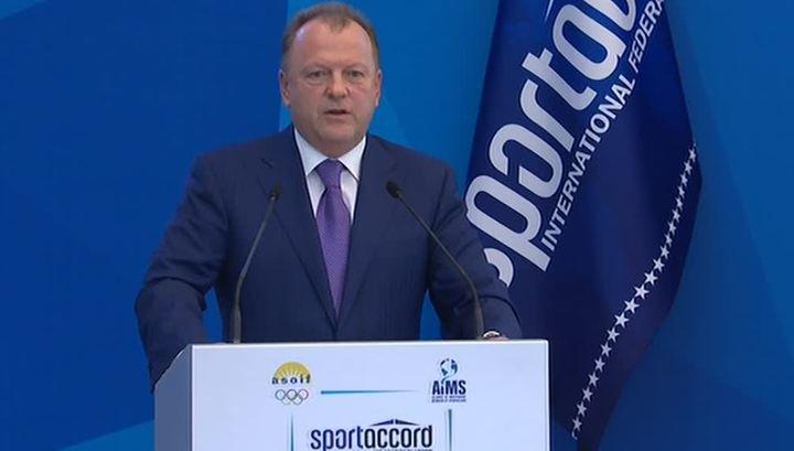 Визер ушел в отставку с поста президента «СпортАккорда»