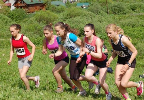 В Славском состоялся чемпионат Украины с горного бега
