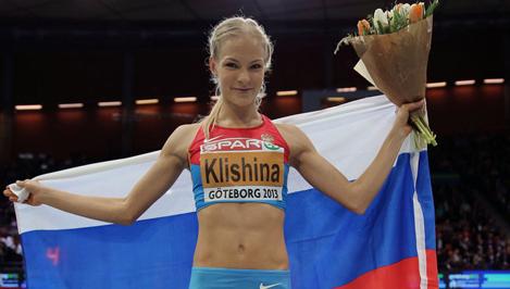 Дарья Клишина победила на этапе Бриллиантовой лиги в прыжках в длину