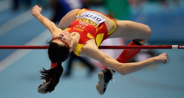 Рут Бейтиа победила на этапе Бриллиантовой лиги в прыжках в высоту