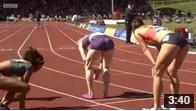 400м с/б Женщины Бриллиантовая лига 2015 - Бирмингем