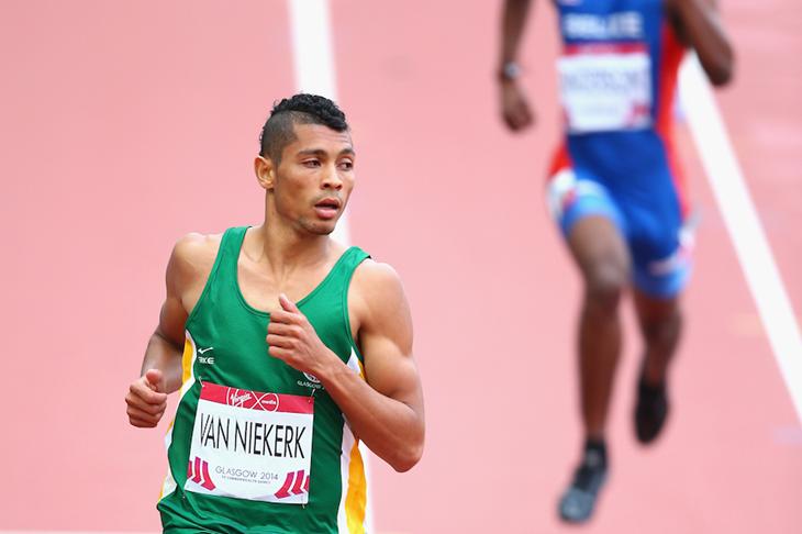 Уэйд ван Никерк установил новый рекорд континента в беге на 400м в Париже +Видео