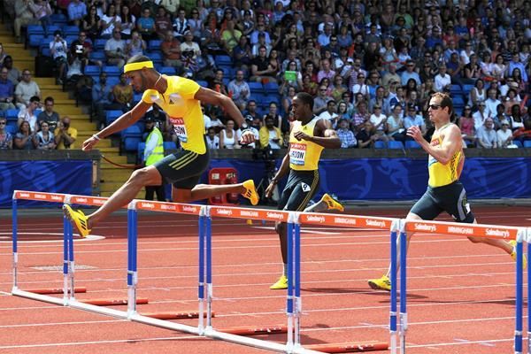 Хавьер Кульсон - выиграл 400м с барьерами на этапе Бриллиантовой в Нью Йорке +Видео