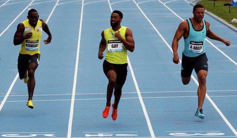 Тайсон Гэй выиграл 100м на этапе Бриллиантовой в Нью Йорке +Видео