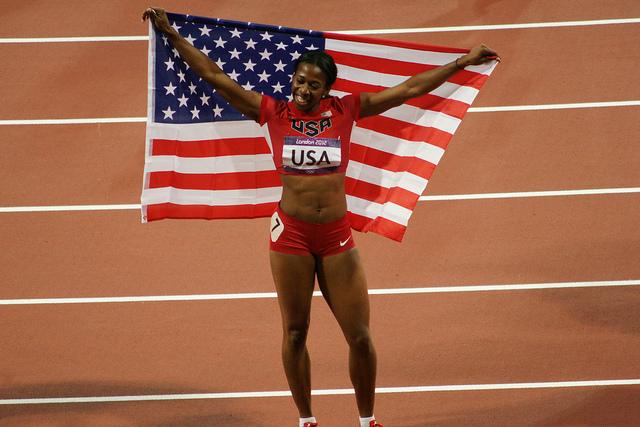Франсена Маккорори выиграла 400м на этапе Бриллиантовой лиги в Нью Йорке +Видео