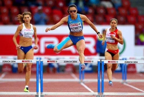 Анна Титимец - вторая в беге на 400м с барьерами на командном чемпионате Европы +Видео