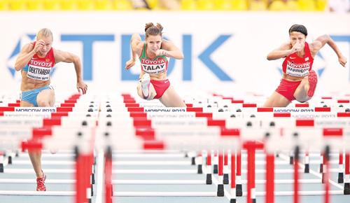 Алина Талай победила на 100м с барьерами на командном чемпионате Европы + Видео