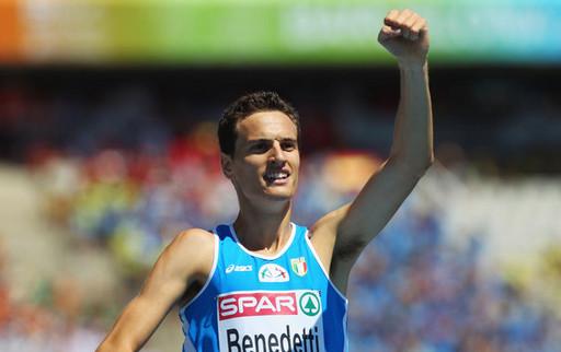Джордано Бенедетти установил новый рекорд чемпионатов Европы в беге на 800м +Видео