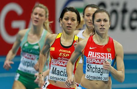 Анна Щагина победила на командном чемпионате Европы в беге на 1500 м +Видео