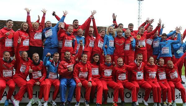 Сборная России победила на командном чемпионате Европы в Чебоксарах!