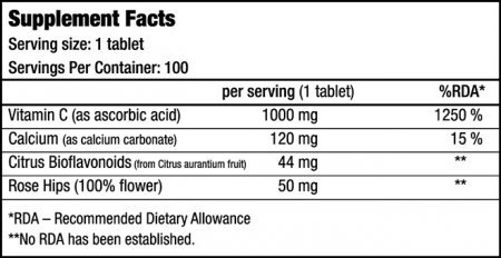Vitamin C 1000 (BioTech USA)