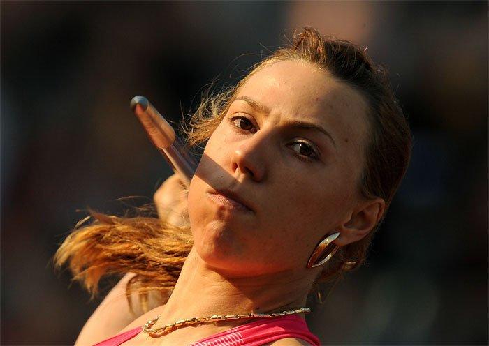Мария Абакумова выиграла международные соревнования в Словении в метании копья