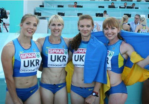 Украинки не вышли на старт в эстафете Бриллиантовой Лиги в Лозанне
