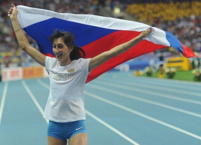 Екатерина Конева выиграла золотую медаль на Универсиаде в тройном прыжке