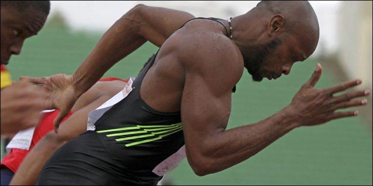 Асафа Пауэлл победил на стометровке на соревнованиях в Швейцарии