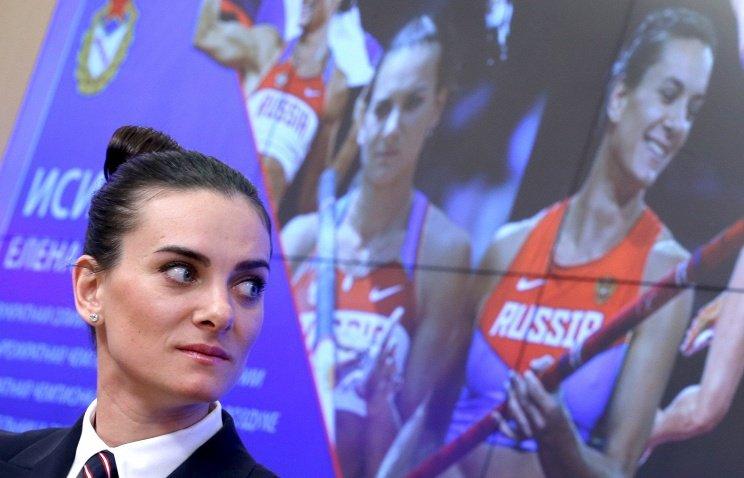 Елена Исинбаева пока не ставит конкретную задачу на первый турнир после возвращения