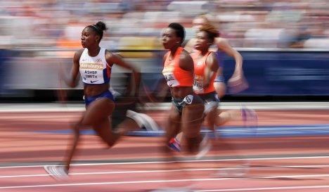 Дина Эшер-Смит первая из британок выбежала из 11 секунд на 100-метровке
