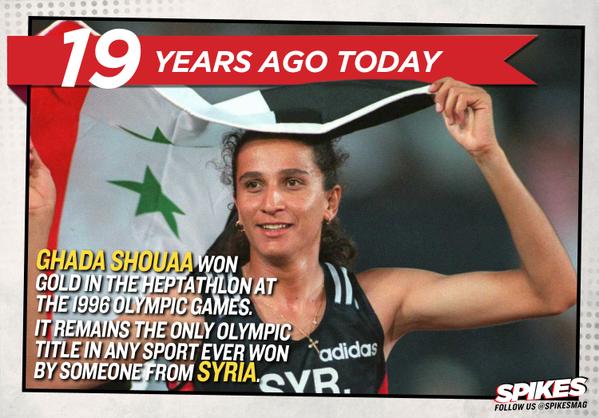Гада Шуаа единственная олимпийская чемпионка в истории Сирии