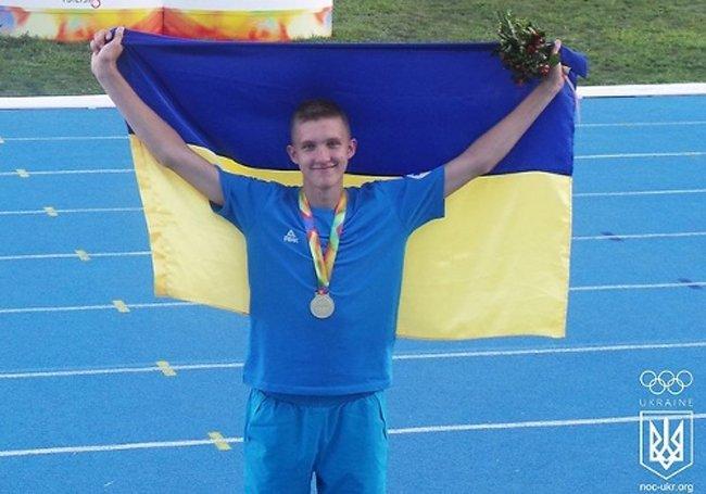 Украинский прыгун в высоту завоевывал золотую медаль в Тбилиси