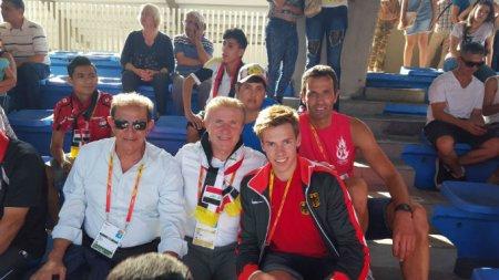 Немец помог украинцу выиграть медаль чемпионата мира
