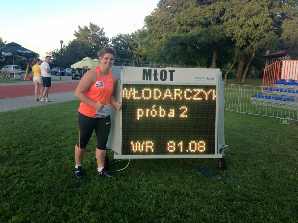 Побит мировой рекорд в метании молота