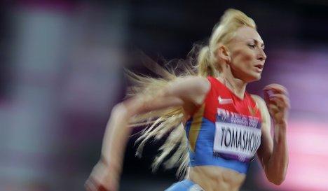 Татьяна Томашова остается в составе сборной РФ на ЧМ в Пекине