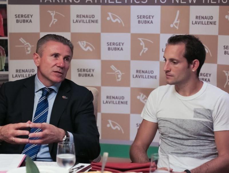 Сергей Бубка и Рено Лавиллени организовывают новый турнир по прыжкам с шестом